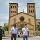 Alcalde felicita a ciudadanos por celebrar a la Virgen desde sus hogares