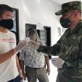 Ejército entrega libretas militares a jóvenes de la etnia Mokaná