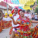 Sincé celebra en el puente festivo el Encuentro Cultural La Pollera Colorá