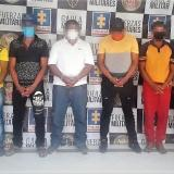 Envían a prisión a cinco presuntos extorsionistas en Cesar