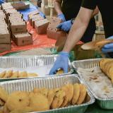 El empaque y transporte de los alimentos contó con todos los protocolos.