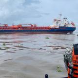 Hay un plan listo frente al riesgo de derrame de buque encallado