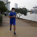 Cartagena reabre playas para trotar y caminar