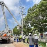 Electricaribe garantiza prestación de servicio con más de 3 mil operarios