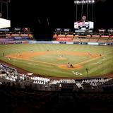 El Dodger Stadium, casa de Los Ángeles Dodgers.