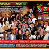 Este fin de semana, concierto virtual Carnavatón USA 'Todos por Barranquilla'