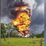 Atacan con explosivos una plataforma petrolera en Arauca