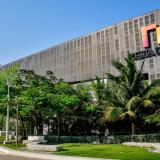 Fachada del Centro de Eventos del Caribe Puerta de Oro donde se desarrollará parte de la agenda de la Asamblea programada para marzo del 2021.