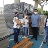 Malambo recibió ayudas humanitarias tras vendavales que azotaron el municipio