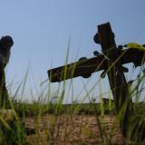 Verifican protección de terreno con restos humanos en El Copey