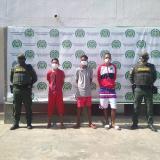 Tres capturados por atacar con cuchillo a un hombre en Maicao