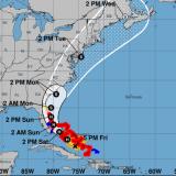 Isaías deja parte de Bahamas sin electricidad y enfila al Estrecho de Florida