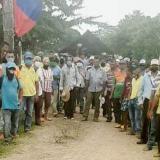 Campesinos en Sucre exigen tierras para trabajar y poder subsistir