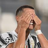 Cristiano Ronaldo tras la eliminación de Juventus de la Liga de Campeones.