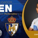 El SD Ponferradina le dio la bienvenida al cartagenero Juergen Farid Elitim.