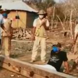 En Tuchín los infractores son castigados con cepo.