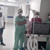 Hospital Sandiego de Cereté recibió 9 ventiladores para UCI
