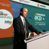 Francisco Lloreda durante una ponencia.