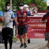 Un grupo de gestores educativos invitan al uso del tapabocas en Cartagena que muestra evidente mejoría en los resultados de la lucha con el COVID-19