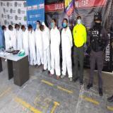 Gaula Militar Magdalena captura a 10 de los 'Papi Urbanos'