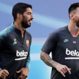 Luis Suárez y Lionel Messi, las principales armas ofensivas del Bayern Munich.