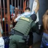 La Policía realiza requisas en la URI de Sincelejo