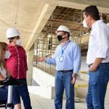 Obras para sede de UA en Sabanalarga avanzan en un 65%