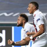 Neymar y Kylian Mbappé, dos de las estrellas del PSG.