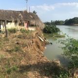 En municipios como Tierralta, sur de Córdoba, muchas viviendas han sido arrastradas a pedazos por efectos de la erosión.