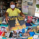 Libreros regresaron al tradicional Parque Centenario de Cartagena