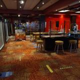 Interior del Casino Río con la nueva disposición.