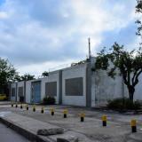 Horno crematorio del Cementerio Universal.