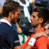 Medvedev y Djokovic encabezan experimento burbuja con el Masters Cincinnati