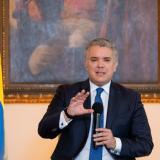 Presidente Iván Duque al momento de la presentación de los nuevos instrumentos.