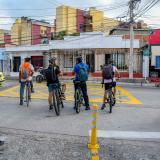 En el suroriente y suroccidente son las zonas en donde más se presentan robos de bicicletas.
