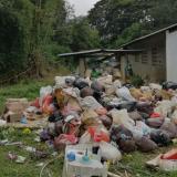 En la parte alta de Ciénaga tienen acumuladas 160 toneladas de basuras
