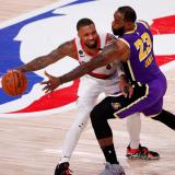 Portland y Lakers es una de las series más disputadas de los Playoffs 2020.