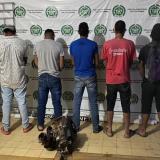 Capturan a cinco personas por minería ilegal en Planeta Rica, Córdoba