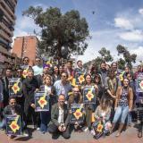 Miembros del colectivo en una manifestación de diciembre de 2019.