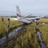 Honduras halla 489 kilos de cocaína en una avioneta procedente de Venezuela