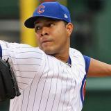 José Quintana, lanzador colombiano de los Cachorros de Chicago.