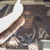 Ronaldinho a su llegada a Río de Janeiro.