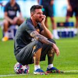 Lionel Messi, delantero argentino del FC Barcelona.
