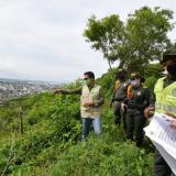 En video | Recuperan terrenos invadidos en el Cerro de La Popa