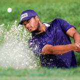 El golfista bogotano Sebastián Muñoz se ubicó en la cuarta posición tras la primera jornada.
