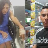"""""""Si no llega la Policía, me hubiera matado"""": Mujer denuncia brutal agresión"""