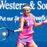 Viktoria Azarenka se proclamó vencedora del Torneo de Cincinnati.