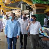 El presidente Duque, el alcalde Pumarejo y varios congresistas del Atlántico recorren el Caimán del Río.