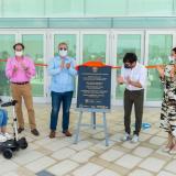 Duque entrega pabellón de eventos 'Caja de Cristal' en el Malecón del Río