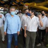 Estos son los proyectos que el alcalde Pumarejo le presentó al presidente